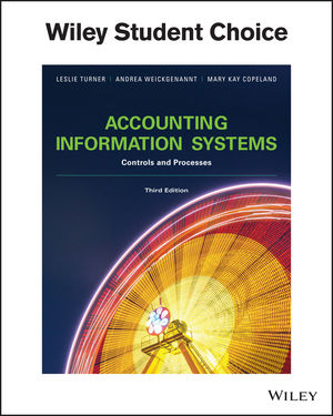 Accounting Information Systems: Controls and Processes, 3rd Edition (EHEP003688) cover image