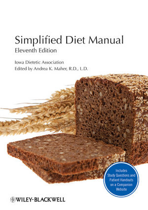 Simplified Diet Manual, 11th Edition (0470961589) cover image