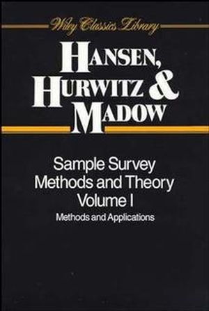 Sample Survey Methods and Theory, 2 Volume Set