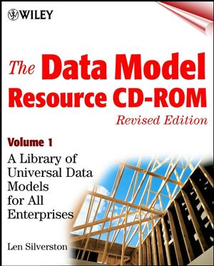The Data Model Resource CD, Volume 1: A Library of Universal Data Models for All Enterprises, Revised Edition (0471388289) cover image