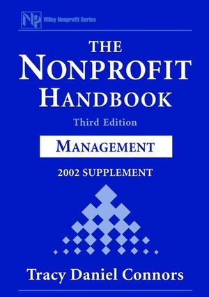 The Nonprofit Handbook: Management, 2002 Supplement, 3rd Edition (0471419389) cover image