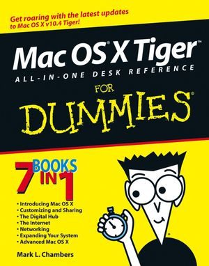 Mac OS X Tiger All-in-One Desk Reference For Dummies (0471747289) cover image