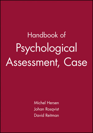 Handbook of Psychological Assessment, Case Conceptualization, and Treatment, 2 Volume Set