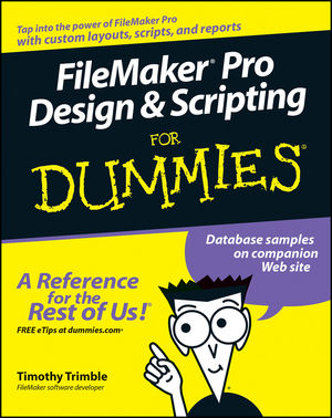Filemaker Pro Design and Scripting Files