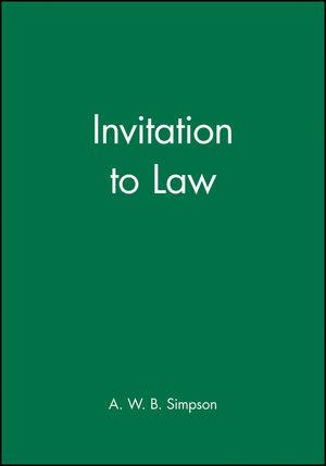 Invitation to Law