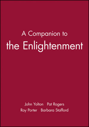 A Companion to the Enlightenment (0631196889) cover image
