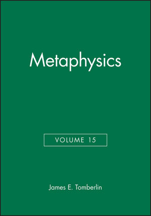 Metaphysics, Volume 15 (0631230289) cover image
