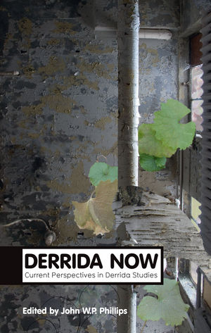 Derrida Now: Current Perspectives in Derrida Studies  (0745662889) cover image
