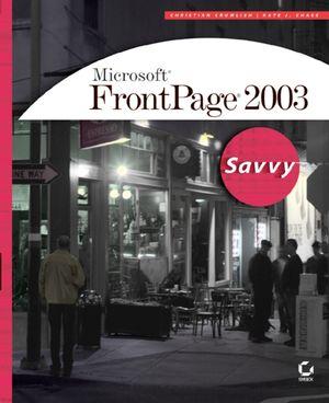 Microsoft FrontPage 2003: Savvy