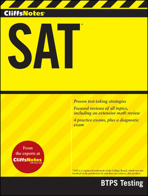 CliffsNotes SAT (1118057589) cover image