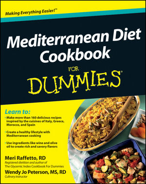 Mediterranean Diet Cookbook For Dummies (1118067789) cover image