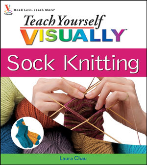 Teach Yourself VISUALLY Sock Knitting (1118153189) cover image