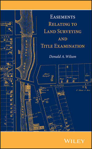 Easements Relating to Land Surveying and Title Examination (1118349989) cover image