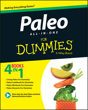 Paleo All-In-One For Dummies (1119022789) cover image