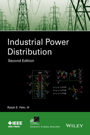 Industrial Power Distribution, 2nd Edition (1119065089) cover image