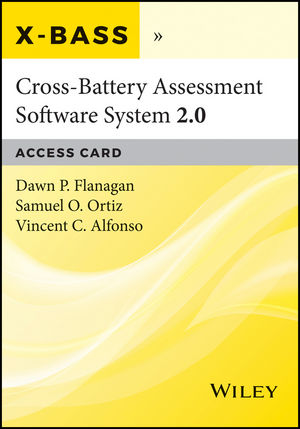 Cross-Battery Assessment Software System 2.0 (X-BASS 2.0) Access Card (1119389089) cover image