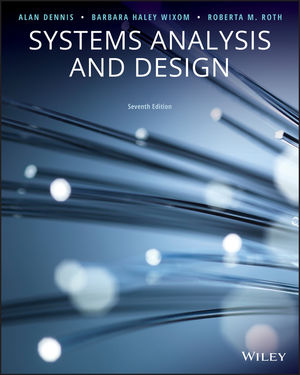 Systems Analysis And Design 7th Edition Wiley