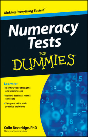 Numeracy Tests For Dummies (1119953189) cover image