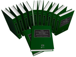 The International Studies Encyclopedia, 12 Volume Set (1405152389) cover image