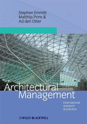 Architectural Management: International Research and Practice (1444312189) cover image