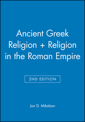 Ancient Greek Religion 2e + Religion in the Roman Empire