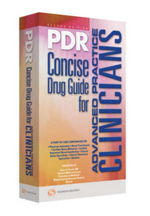 2009 PDR Concise Drug Guide for Advanced Practice Clinicians, 2nd Edition