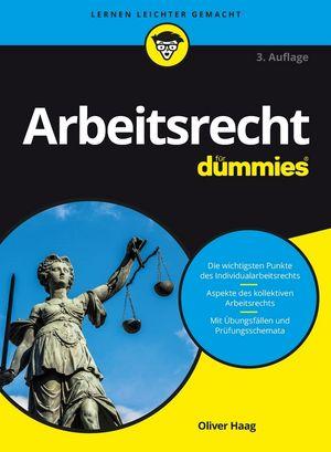Arbeitsrecht für Dummies, 3. Auflage (3527809589) cover image