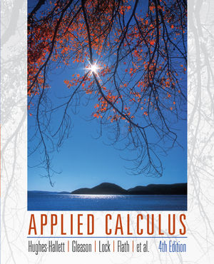 Applied Calculus, 4th Edition (EHEP000189) cover image