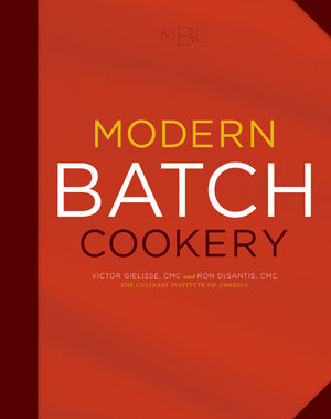 Modern Batch Cookery (047029048X) cover image