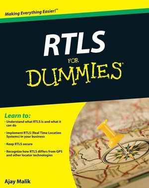 RTLS For Dummies (047039868X) cover image
