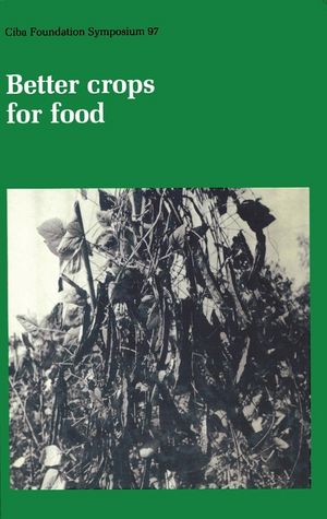 Better Crops for Food