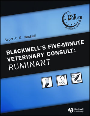 Blackwell's Five-Minute Veterinary Consult: Ruminant (047096118X) cover image