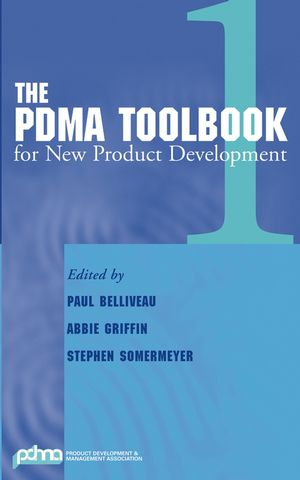 The PDMA ToolBook 1 for New Product Development (047127108X) cover image