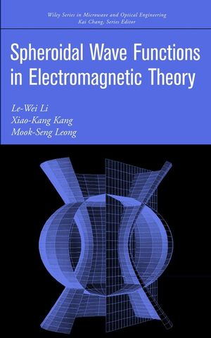 Spheroidal Wave Functions in Electromagnetic Theory (047146418X) cover image