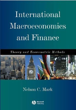 International Macroeconomics and Finance: Theory and Econometric Methods (063122288X) cover image