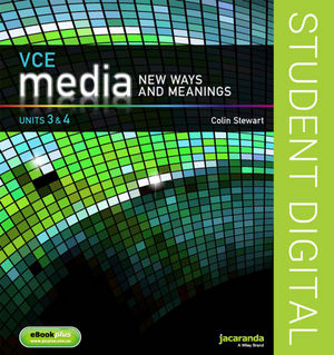 VCE Media: New Ways and Meanings Units 3 and 4 eBookPLUS (Online Purchase)