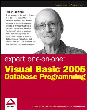 Expert One-on-One<sup><small>TM</small></sup> Visual Basic<sup>&#174;</sup> 2005 Database Programming