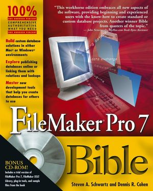 FileMaker Pro 7 Bible (076457888X) cover image