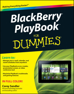 BlackBerry PlayBook For Dummies (111801698X) cover image