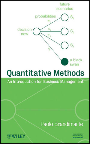 Quantitative Methods: An Introduction for Business Management (111802348X) cover image