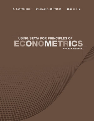 Using Stata for Principles of Econometrics, 4th Edition (111803208X) cover image