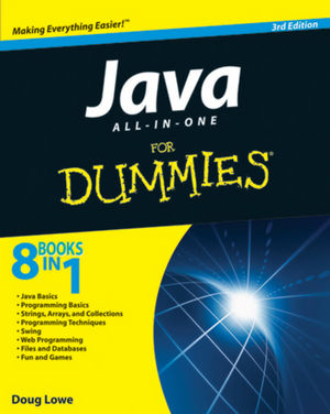 Java All-in-One For Dummies, 3rd Edition (111805458X) cover image