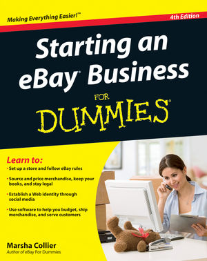 Starting an eBay Business For Dummies, 4th Edition (111806738X) cover image