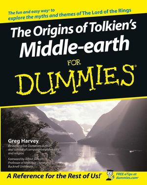 The Origins of Tolkien's Middle-earth For Dummies (111806898X) cover image