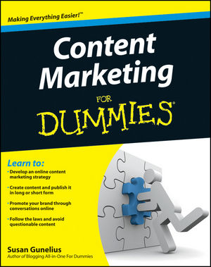 Content Marketing For Dummies (111809378X) cover image