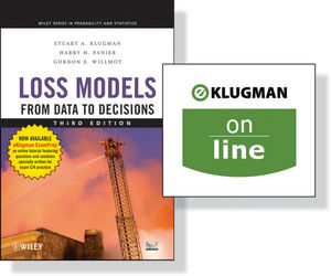 Loss Models: From Data to Decisions, 3rd Edition + (One Year Online): Preparation for Actuarial Exam C/4 Wrapper Set (111821028X) cover image