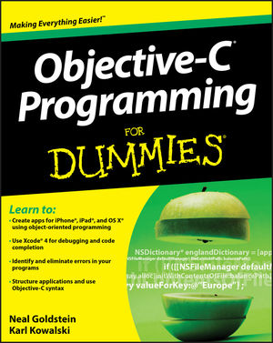 Objective-C Programming For Dummies (111821398X) cover image