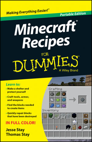 Minecraft Recipes For Dummies, Portable Edition
