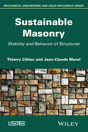 Sustainable Masonry: Stability and Behavior of Structures (111900358X) cover image