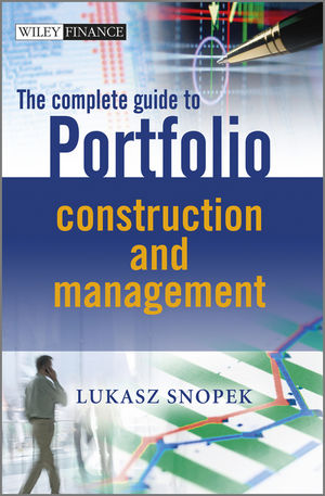 The Complete Guide to Portfolio Construction and Management (111997688X) cover image
